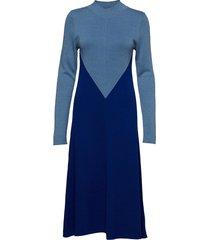 ingeborg jurk knielengte blauw rodebjer