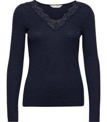 emma l/s top t-shirts & tops long-sleeved blauw odd molly