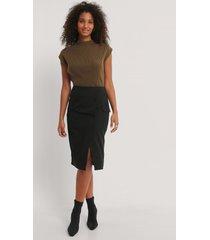 na-kd classic kjol - black