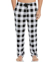 perry ellis portfolio men's buffalo plaid knit pajama pants