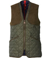 laksen quilted shooting vest