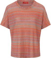 shirt met ronde hals van laura biagiotti roma multicolour