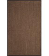 safavieh natural fiber brown 5' x 8' sisal weave rug
