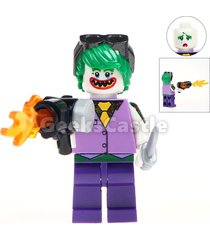 custom joker purple suit minifigure batman dc comics fits lego uk seller