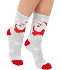 charter club women's beach santa crew socks, created for macy's