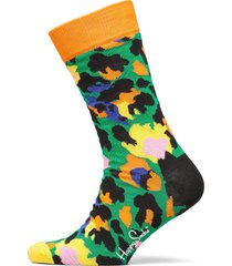 leopard sock underwear socks regular socks grön happy socks