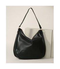 bolsa feminina hobo grande preto