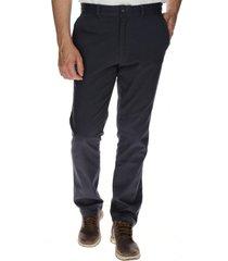 pantalón hombre slim stretch chino algodón azul cat