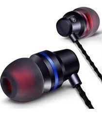 audifono manos libres qkz dm1 microfono hi-fi negro