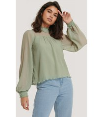 na-kd party blus - green