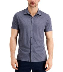 alfani men's alfatech shirt, created for macy's