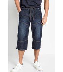 lange jeans bermuda, loose fit