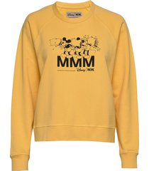 jerri sweatshirt sweat-shirt trui geel wood wood