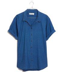 women's madewell chronicle denim shirt