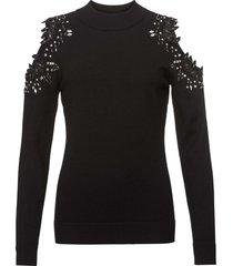 maglione con cut-out (nero) - bodyflirt boutique