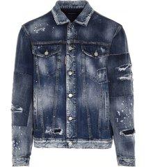 dsquared2 over jean jkt jacket