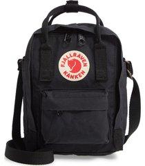 fjallraven kanken sling shoulder bag - black