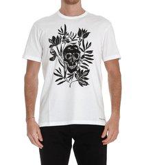 alexander mcqueen skull print t-shirt