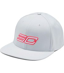 gorra blanca under armour sc30 core hombre blanco