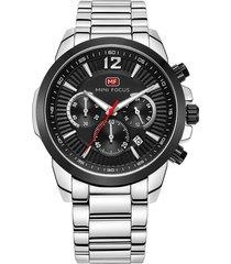 reloj análogo f0087g-1 hombre negro