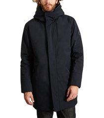 long hooded parka