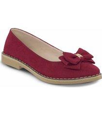 baletas darlene rojo para mujer croydon