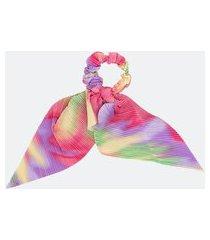 scrunchie infantil estampa tie dye com amarração - tam u | accessories | multicores | u