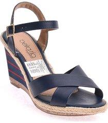 priceshoes sandalia dama 022b8304-1120-9569azul
