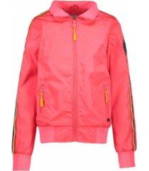 cars coral gekleurde jacket taylor