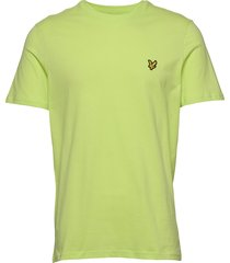 crew neck t-shirt t-shirts short-sleeved grön lyle & scott
