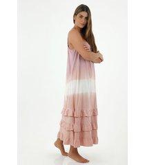 vestido  para mujer tennis, vestidos larga entero tie dye