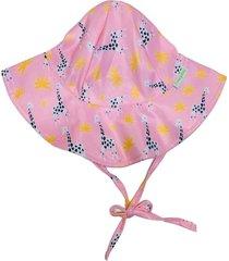 chapéu fpu 50+ ecoeplay girafa rosa