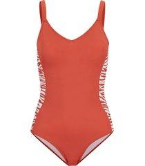 costume intero modellante sostenibile livello 1 (rosso) - bpc bonprix collection