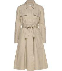alessia dress knälång klänning beige lovechild 1979