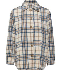 fxtejacket 1 shirt overshirts beige fransa