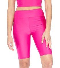 electric yoga women's basic shorts - black - size l