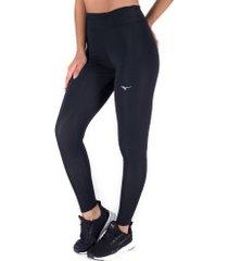 calça legging mizuno big logo - feminina - preto