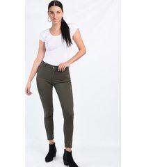 pantalón verde her jeans