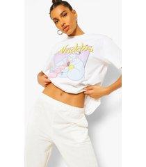 aladdin disney license t-shirt, white