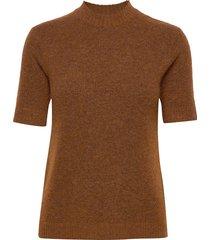 rome t-shirts & tops knitted t-shirts/tops bruin camilla pihl