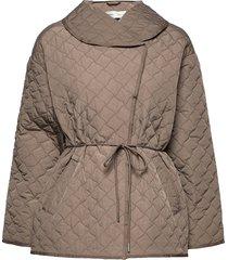 yaklyniw jacket doorgestikte jas grijs inwear
