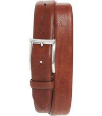 men's bosca washed leather belt, size 42 - dark brown