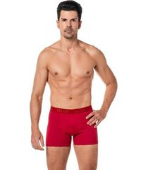cueca boxer masculina microfibra macia elástico conforto - masculino