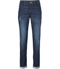 jeans elasticizzati comfort boyfriend (blu) - john baner jeanswear