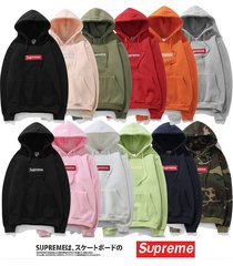 2017 mens supreme hip hop hoodie embroidered cotton sweater hoodies
