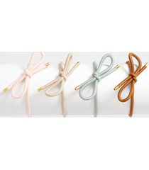 maurices womens 4 pack bow hair tie pack