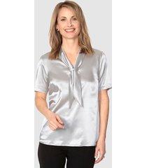 blouse mona zilverkleur