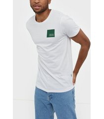 solid dave ss t-shirt t-shirts & linnen white