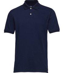 all day pique polo shirt polos short-sleeved blå gap