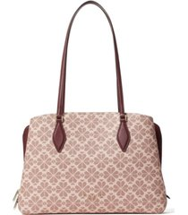 kate spade new york spade flower coated canvas zeezee large tote